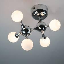 chrome flush mount light dna chrome flush mount ceiling light five light beautifulhalo com