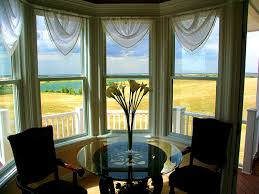 bathroom agreeable bay window treatments dining room design