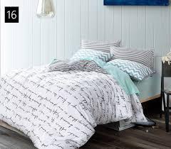 King Size Cotton Duvet Cover Quality Cotton Duvet Covers Set Simple Cross Bedding Set Double