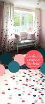 Purple Polka Dot Curtain Panels by Remodelaholic Confetti Drapes Tutorial