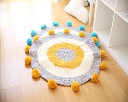 plaide pour canapé ronde tricoté fil couverture sur le lit crochet plaid pour canapé