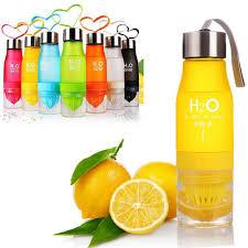 fruit infusion water bottle 650ml u2013 zapfoods us