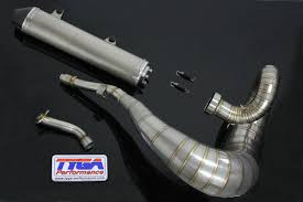 set exhaust chamber stainless steel with stainless steel