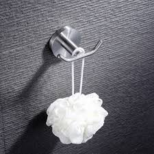 aliexpress com buy finether robe hook wall mounted double