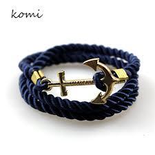 anchor bracelet women images Komi anchor bracelets new arrival vintage retro bracelets fashion jpg