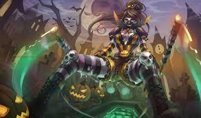 halloween akali by monorirogue deviantart com on deviantart