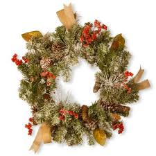 Outdoor Christmas Decorations Bed Bath Beyond by Buy Outdoor Wreath From Bed Bath U0026 Beyond