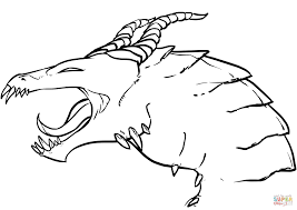 dragon head coloring pages dragon head coloring page free printable coloring pages