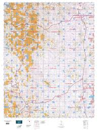 wy map wyoming antelope gmu 23 map mytopo
