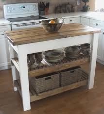 Islands For A Kitchen Kitchen Beautiful Rustic Wood Kitchen Island Rolling Kitchen
