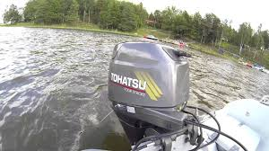 2004 tohatsu mfs30a four stroke engine rattles intermittently and
