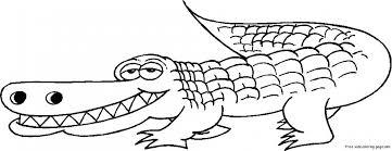 alligator coloring pages kids sz5em