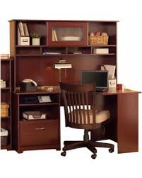 60 desk with hutch big deal on bush cabot 60 corner computer desk with hutch in