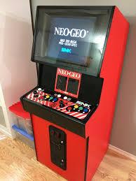 Neo Geo Arcade Cabinet My Neo Geo Cabaret Scratch Build Klov Vaps Coin Op Videogame