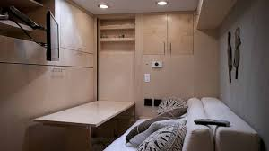 enclosed trailer interior light kit engineer turns trailer into luxurious diy cer