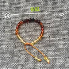 natural amber bracelet images Yoowei wholesale baltic amber bracelet original baroque beads jpg