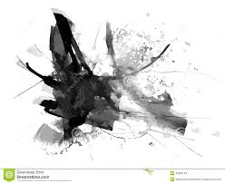 abstract ink paint vector background stock vector image 49828144