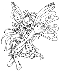 free winx club coloring pages for girls coloringstar