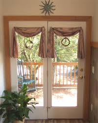 French Door Valances All Sewn Up Alterations Custom Clothing And Custom Home Decor