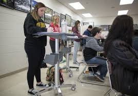 stand up desks are showing up in twin cities area classrooms