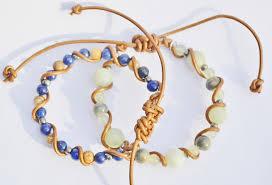 adjustable bracelet images Custom leather twisted adjustable bracelet my one of kind design JPG