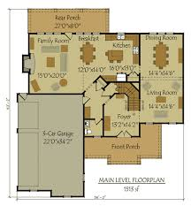 garage floorplans two 4 bedroom home plan with 3 car garage