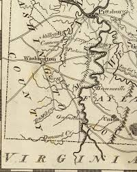 Map Of Lancaster Pa Virginia Pennsylvania Boundary