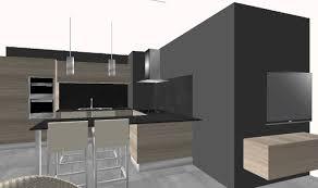 idee cuisine ouverte sejour cuisine moderne ouverte sur sejour