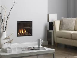 living room impressive hanging fireplace for modern home