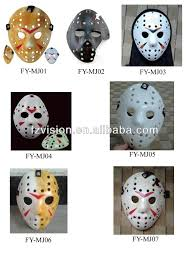 jason mask halloween neca black and white color scratched jason voorhees halloween