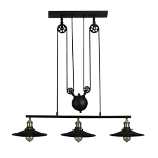 Dining Light Fixtures by Online Get Cheap Pulley Light Fixtures Aliexpress Com Alibaba Group