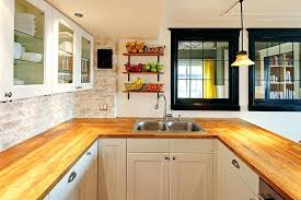 Pictures Of Country Kitchens With White Cabinets Butcher Block Countertops White Cabinet Country Kitchen With Maple