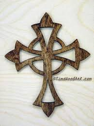 celtic cross wall hanging celtic cross handmade wood cross for wall hanging or ornament