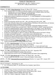 Photo Editor Resume Sample by Resume Examples For Your Job Search Livecareer With Delightful How