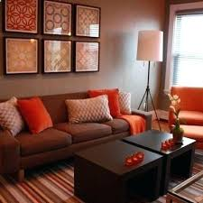 orange living room decor best ideas about orange living rooms on