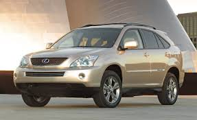 used lexus 2007 2008 lexus rx350 and rx400h review reviews car and driver