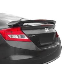 honda civic rear 2012 honda civic spoilers custom factory lip wing spoilers