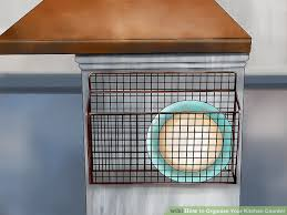 How To Organize Your Kitchen Countertops 3 Ways To Organize Your Kitchen Counter Wikihow