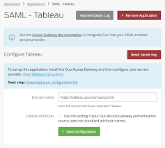 Tableau Architecture Duo Protection For Tableau Duo Security