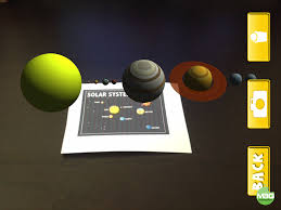 Augmented Reality Home Design Ipad by Augmented Reality Space Flashcards Fun With The Solar System