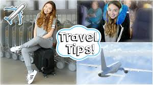 airplane travel tips easy makeup u0026 meredith foster