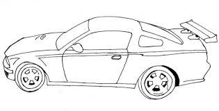 free car coloring print 01276