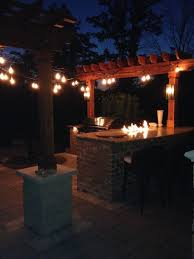 Outdoor Kitchen Lights Outdoor Kitchen Design Grills Pizza Ovens Columbus Cincinnati
