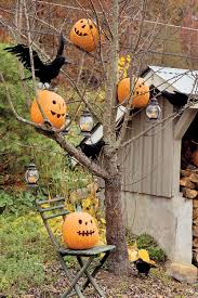 homemade halloween decorations outside