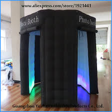 Inflatable Photo Booth Aliexpress Com Buy With 3 Doors Photobooth Cube Tent Inflatable
