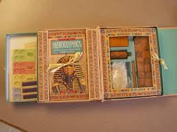 ancient egypt hieroglyphics treasure chest