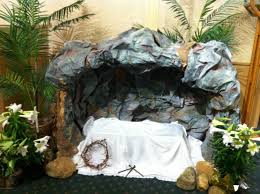 Easter Church Decorations Ideas by Ideas For Building The Empty Tomb And Other Resurrection Scenery