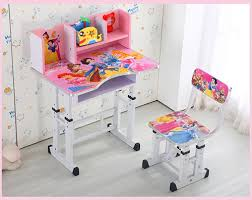 Kid Study Desk High Quality Factory Direct 1 Sets Children Wooden Study