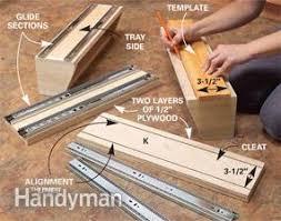 Kitchen Sink Tray How To Build Kitchen Sink Storage Trays Family Handyman
