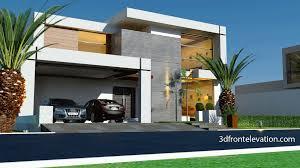 3d Front Elevation Com Beautiful Contemporary House Design 2016 Home Design 3d Trailer